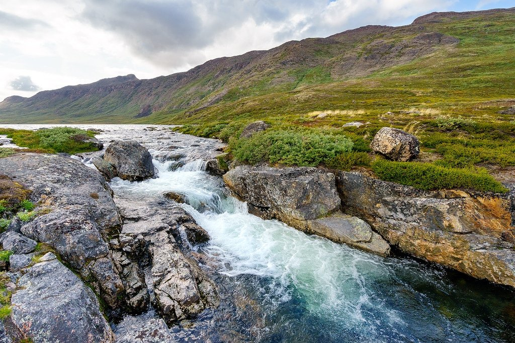 Arctic Circle Trail River
