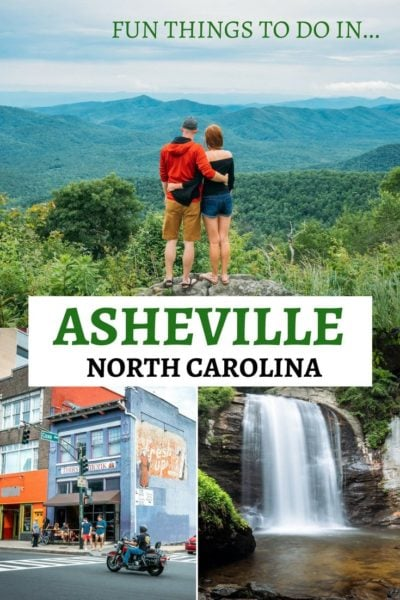 Fun things to do in Asheville, North Carolina! Discover the best activities, bars, and places to eat. #Asheville #Travel #NorthCarolina