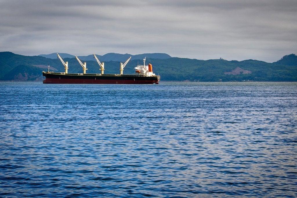Cargo Ships Astoria Oregon