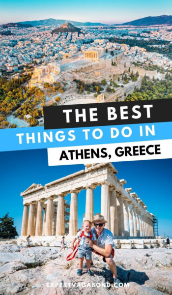 Tips for visiting Athens Greece. Discover the best activities and places to see. #Athens #Greece #ThingsToDo