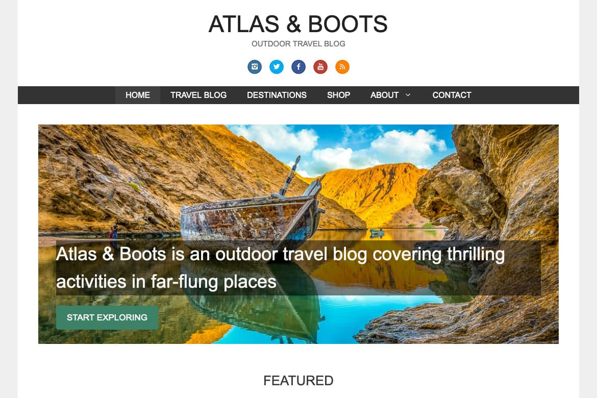 Travel Blogs by Atlas and Boots