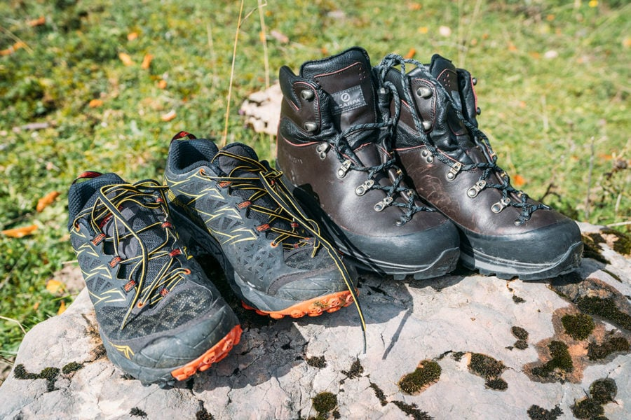 Hiking Shoes and Boots