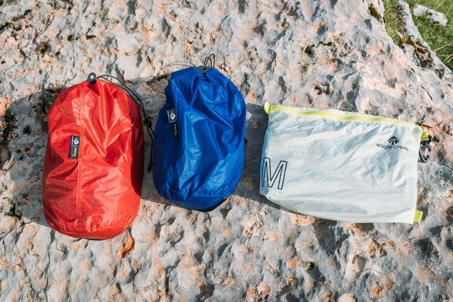 Stuff Sacks and Camping Gear
