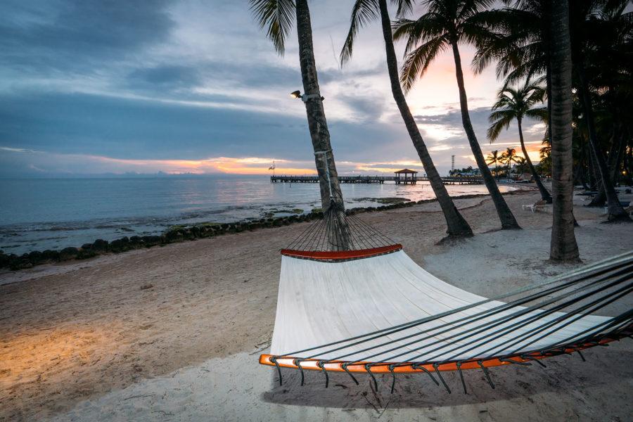 Beach Hammock Sunset