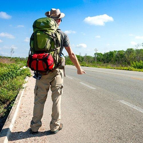 Hitchhiking Travel Adventures