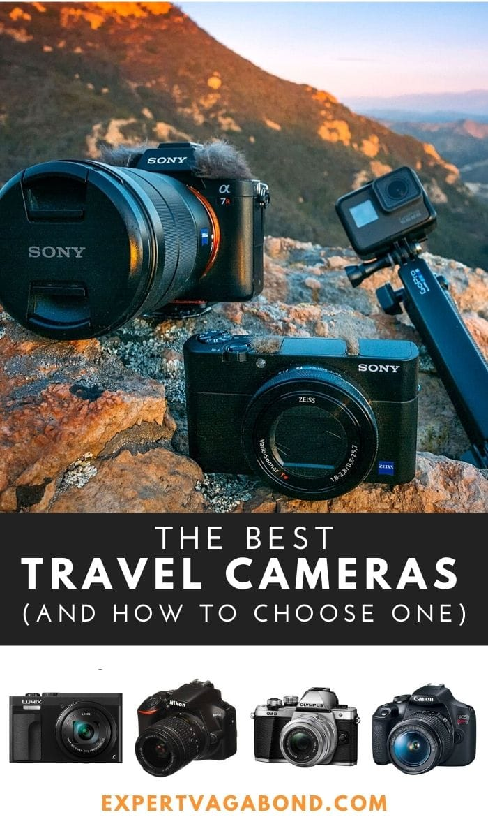 The Best Travel Cameras (And How To Choose One)! Click here to find out more #TravelPhotograpphy #Camera #Photography #Travel