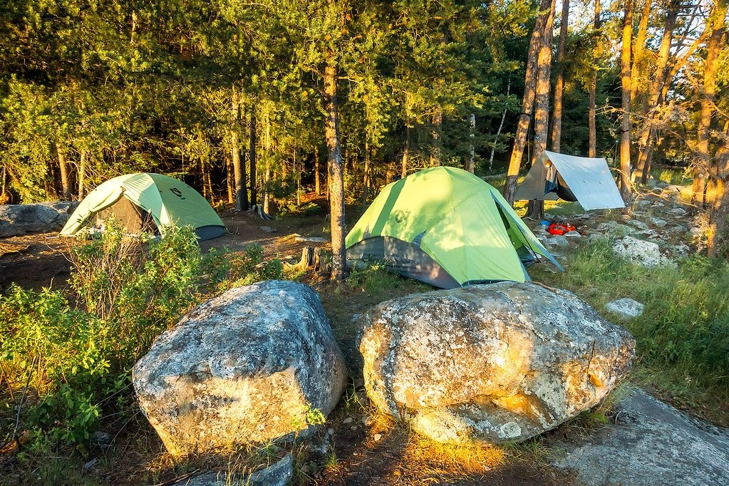 Boundary Waters Campsites
