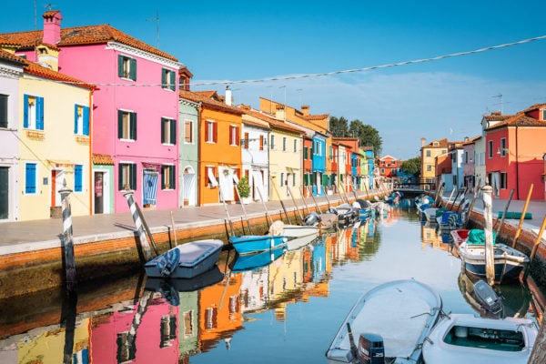Getting Lost On Burano: Italy's Rainbow Island
