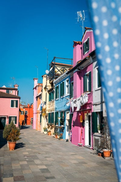Painted Houses on Burano Island