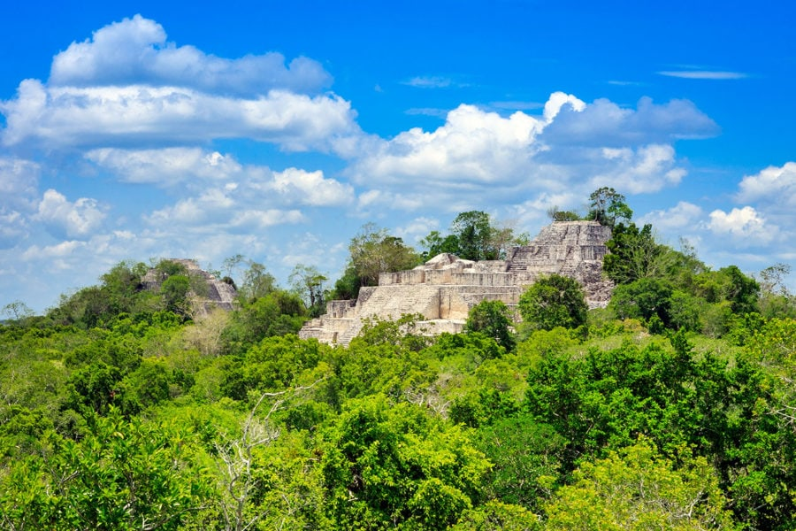 Calakmul Ruins Mexico