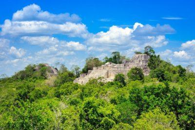Exploring The Remote Calakmul Mayan Ruins