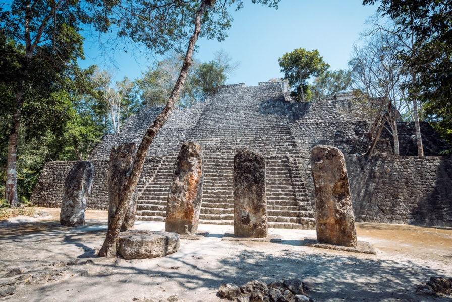 Calakmul Pyramids