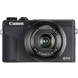 Camera For Travel: Canon G7X