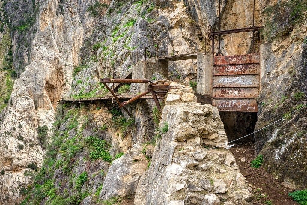 Caminito del Rey Hydroelectric Dam