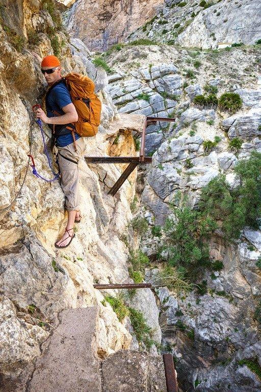 Caminito del Rey Climbing