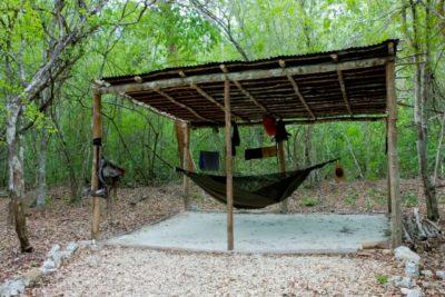 Camping Near Calakmul at Yaax'Che