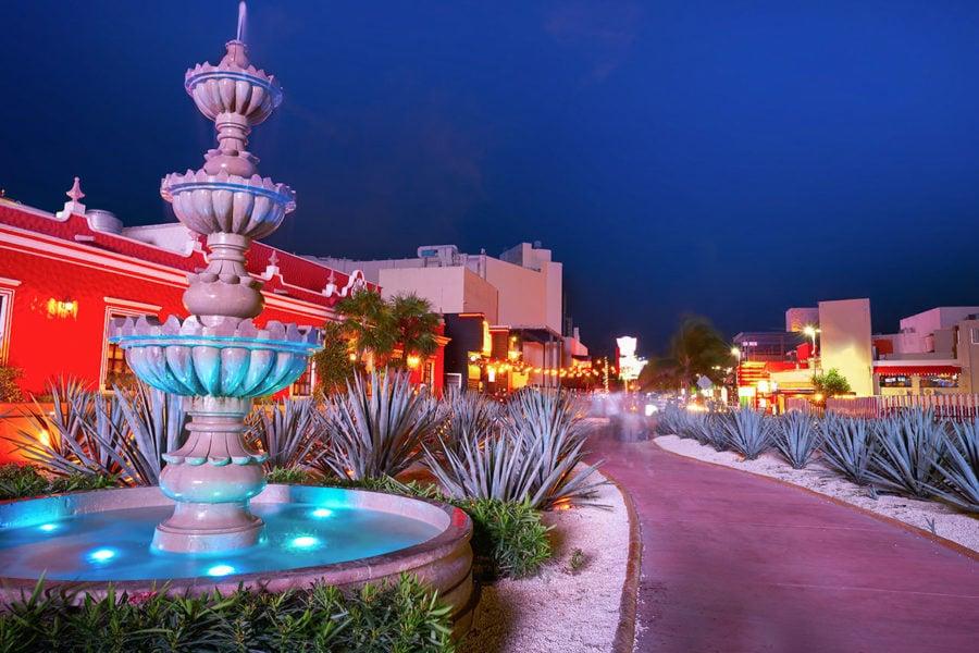The Cancun Hotel Zone