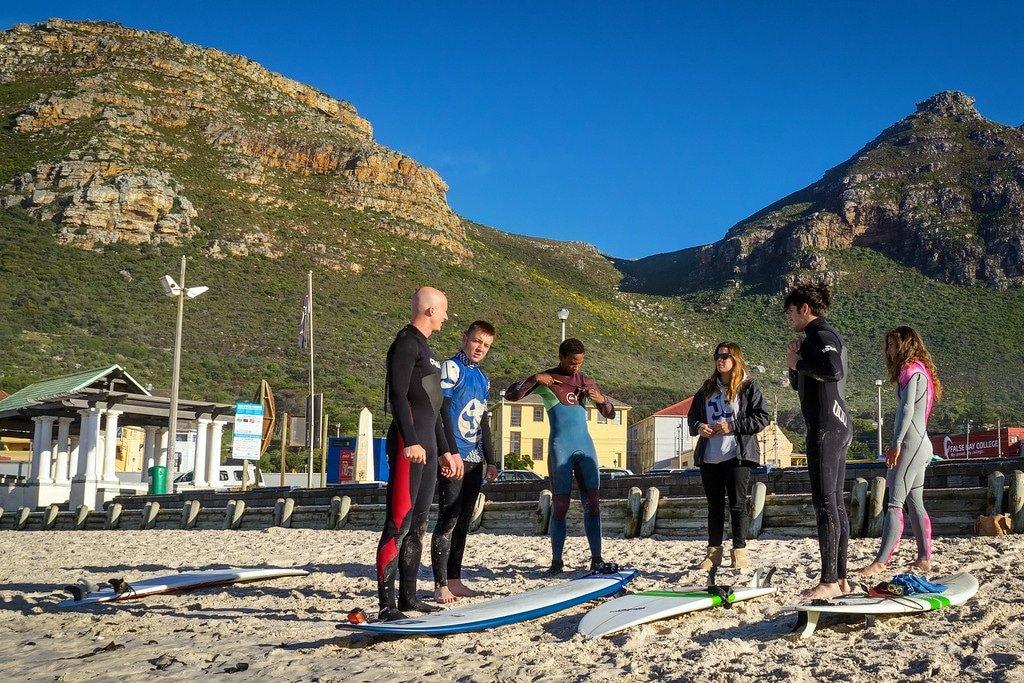 Muizenberg Beach Warm Up