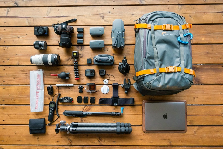 Travel Camera Gear