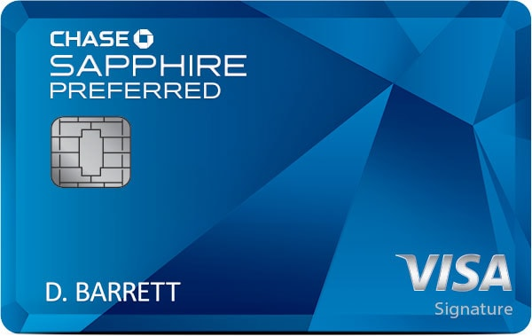 Travel Credit Card: Chase Sapphire Preferred