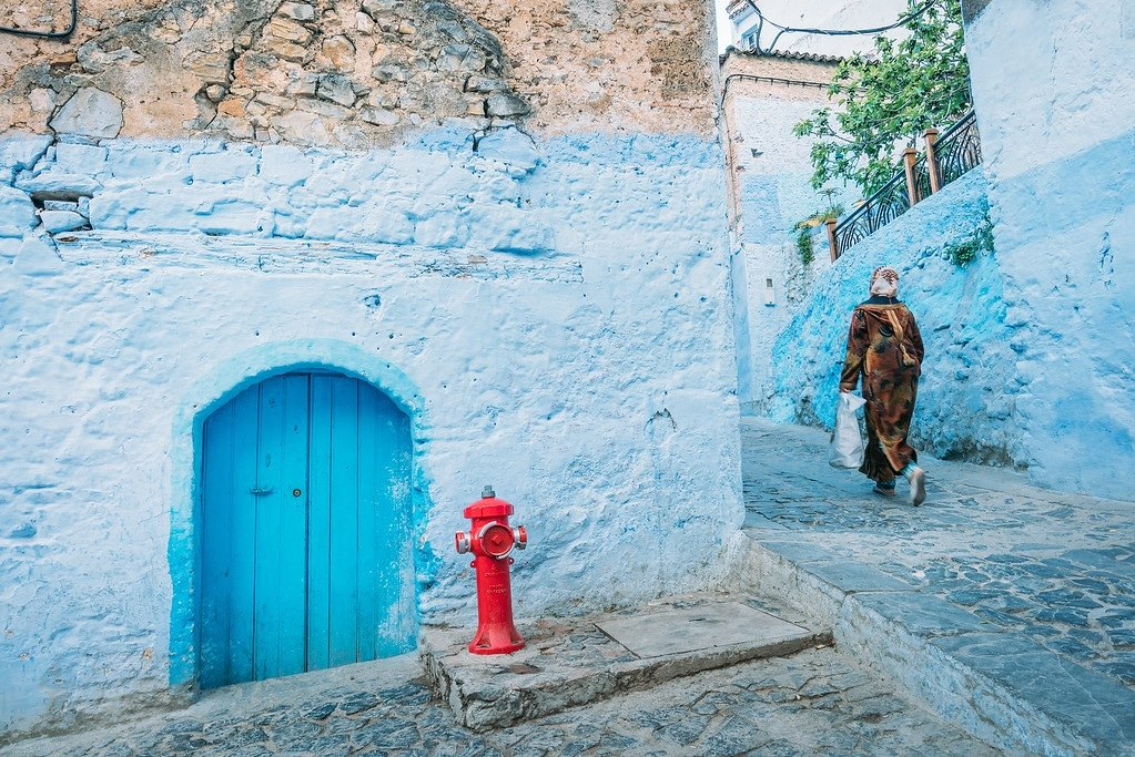 Chefchaouen Morocco Streets