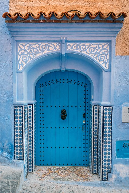 Blue Doors in Chefchaouen