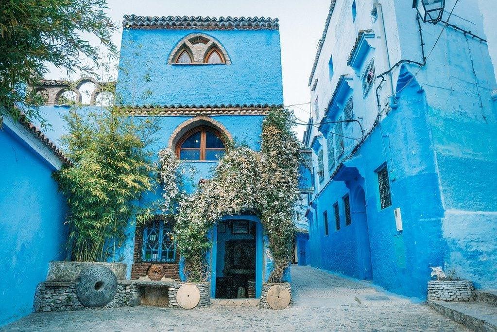 Chefchaouen Blue Buildings