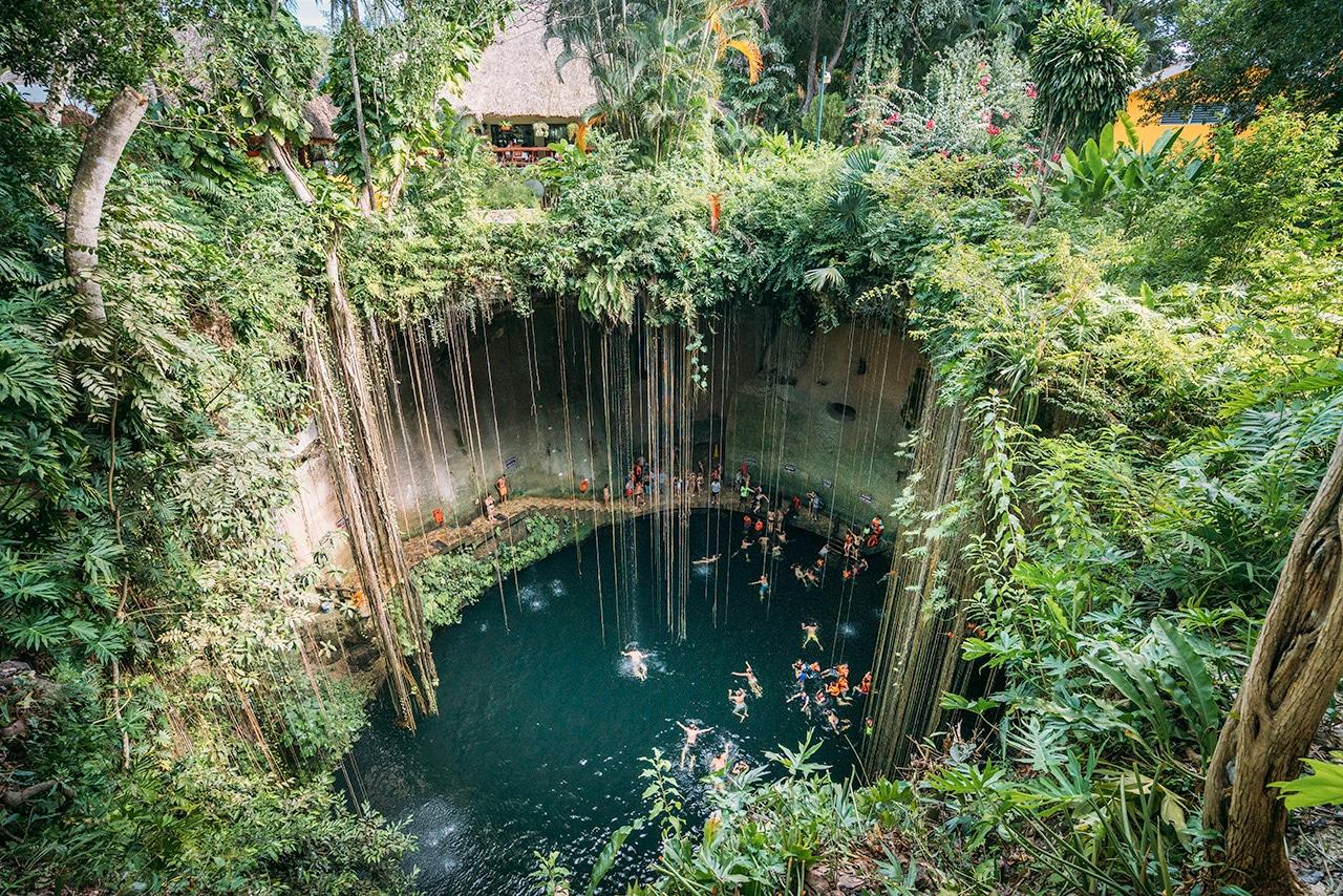 chichen-itza-cenote-ik-kil ▷ Las ruinas de Chichén Itzá: la maravilla del mundo en México