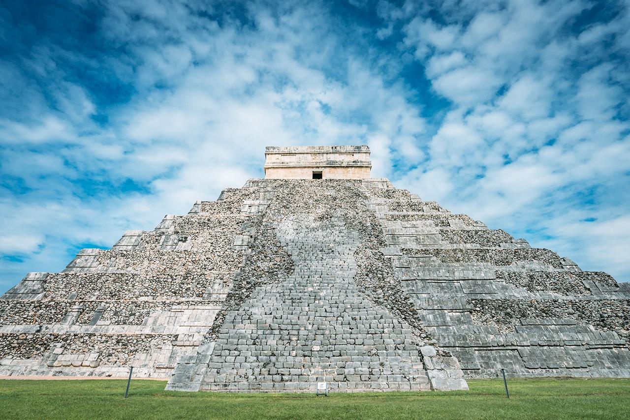 El Castillo the Temple of Kukulcan