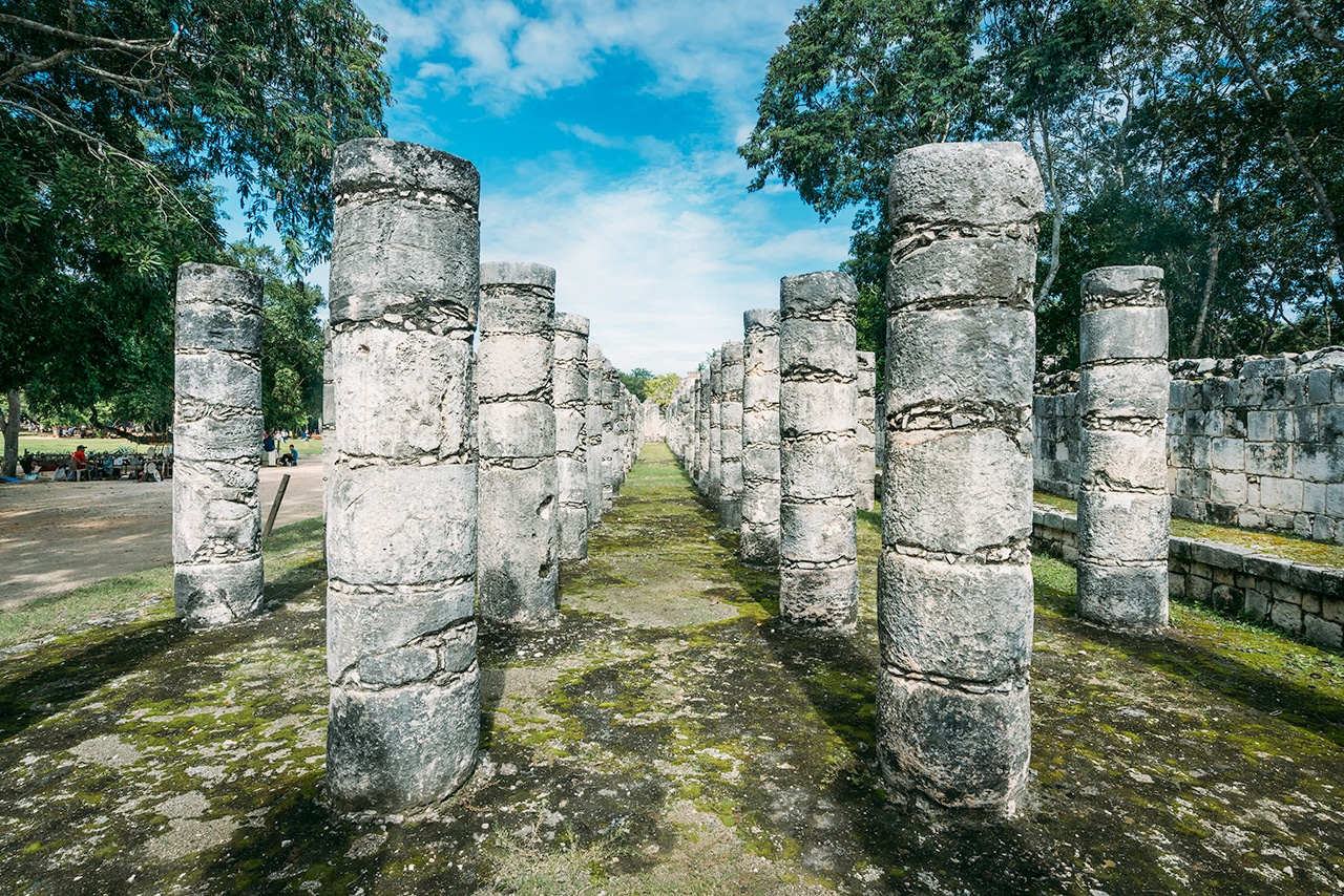 chichen-itza-warrior-temple ▷ Las ruinas de Chichén Itzá: la maravilla del mundo en México