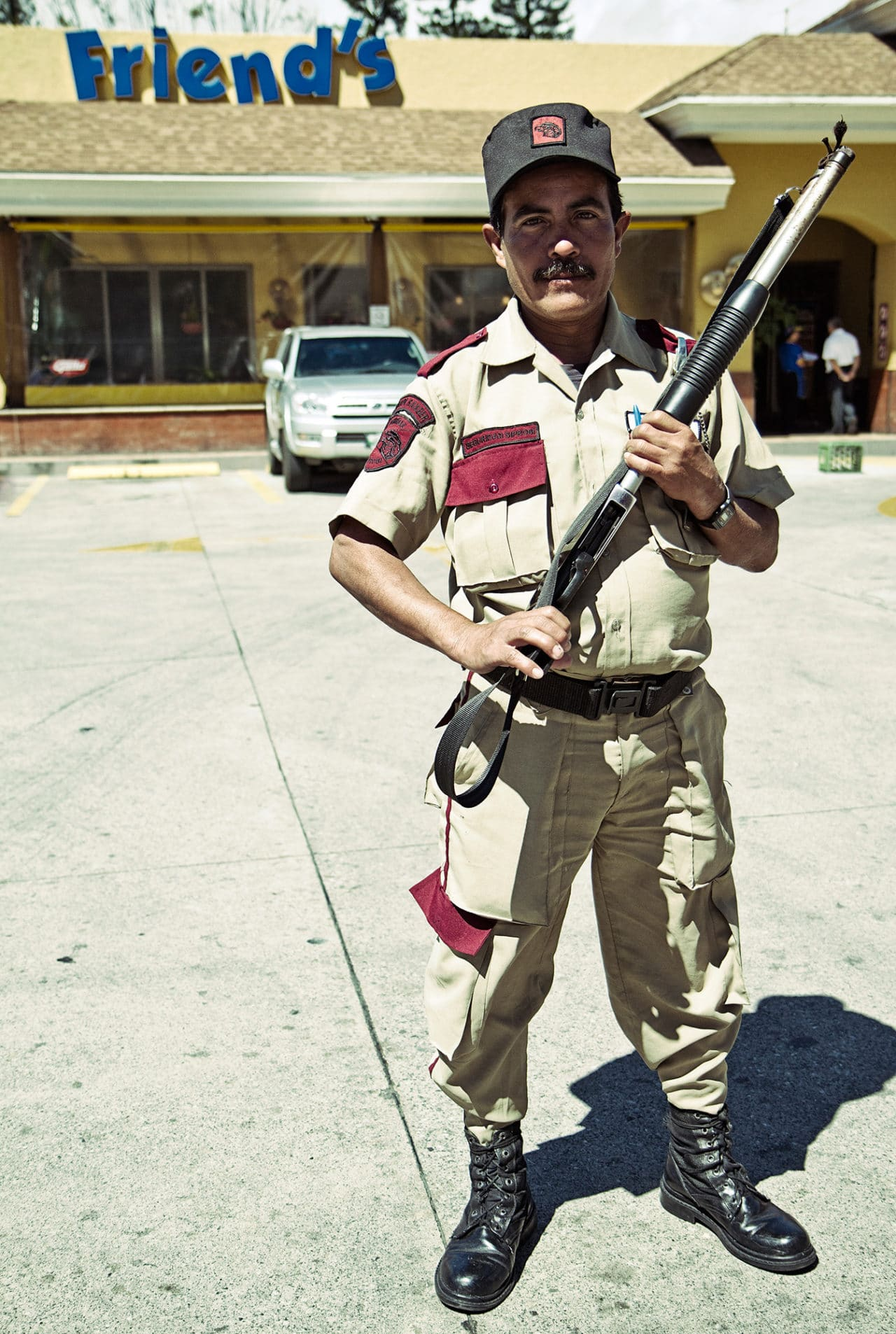 Guard with Shotgun