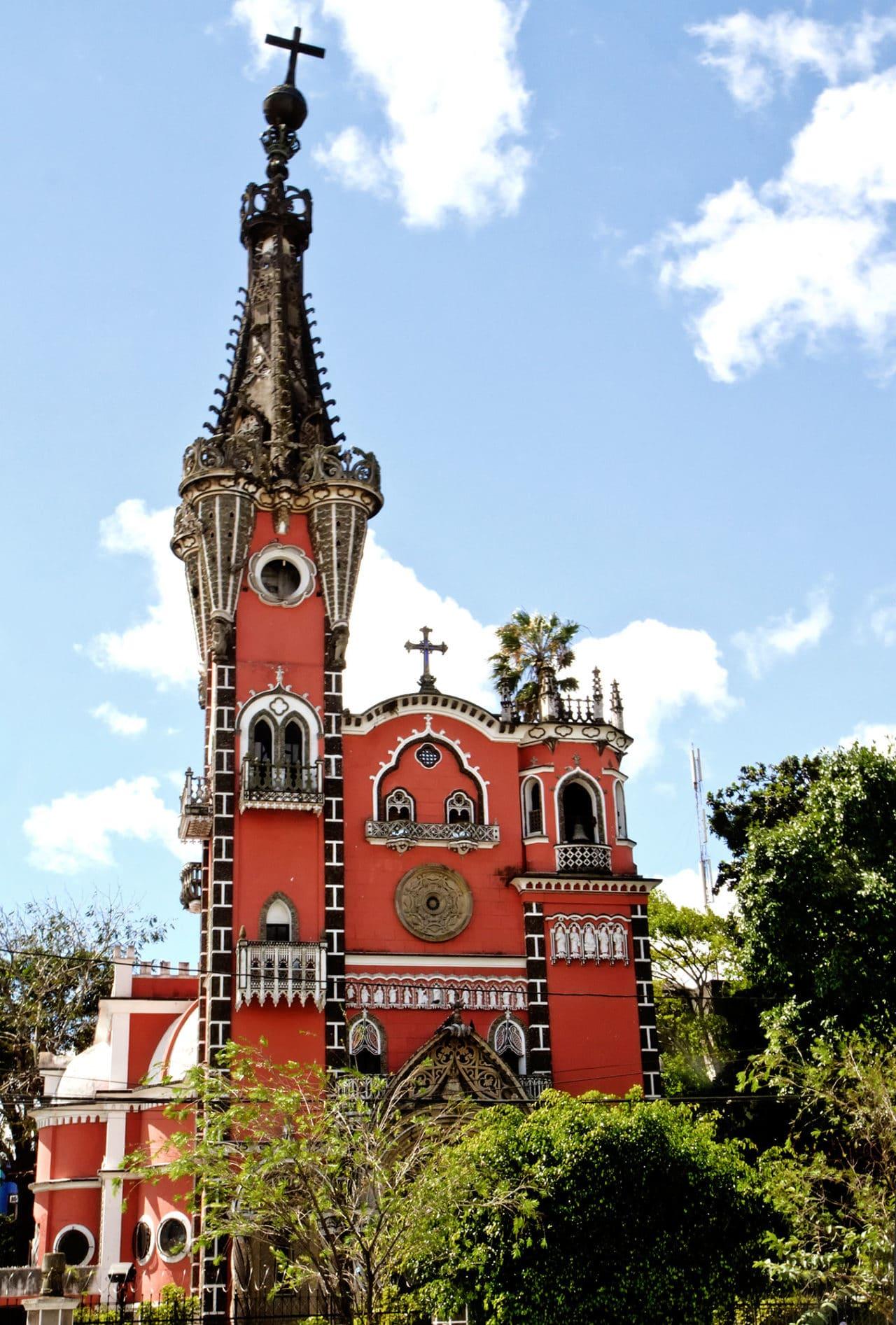 Gothic Yurrita Church Guatemala