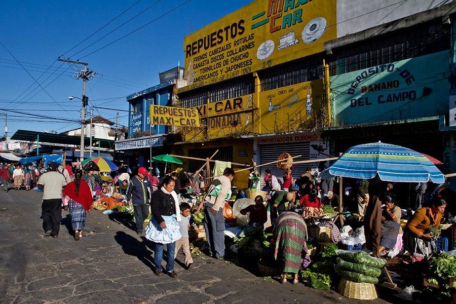 La Terminal Market Guatemala