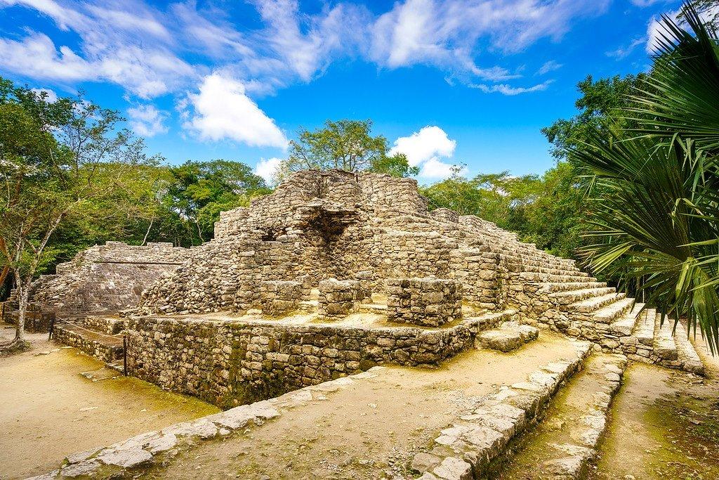 Coba Structures Mexico