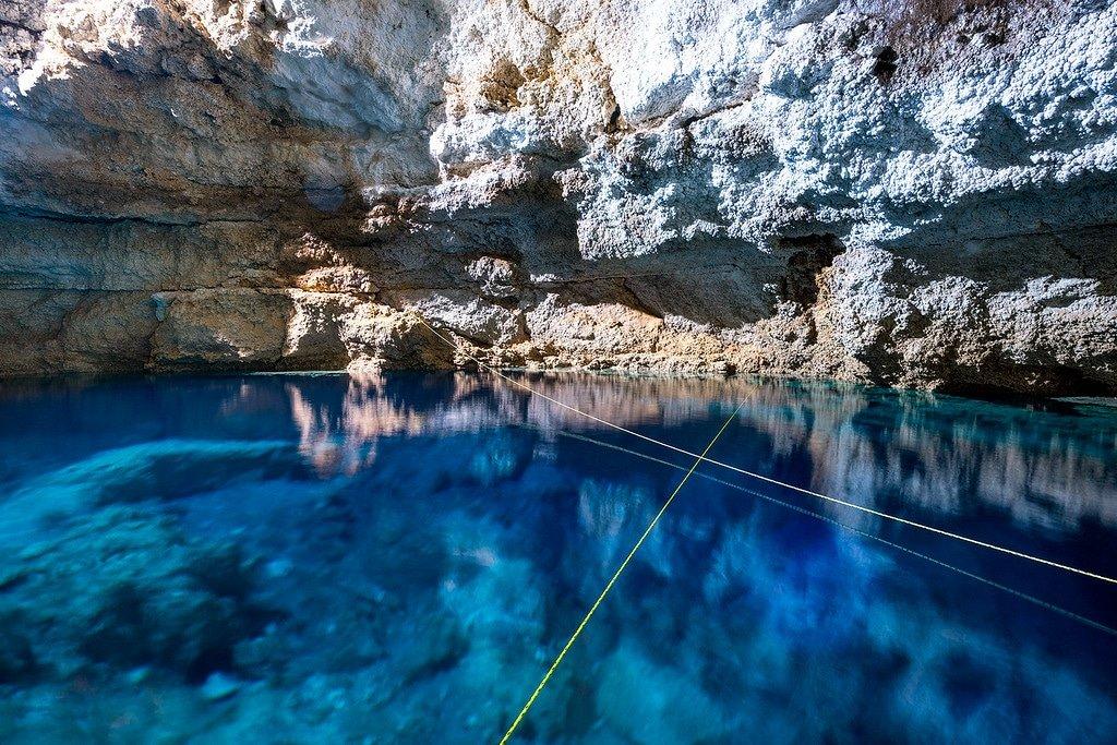 Coba Cenote Swimming