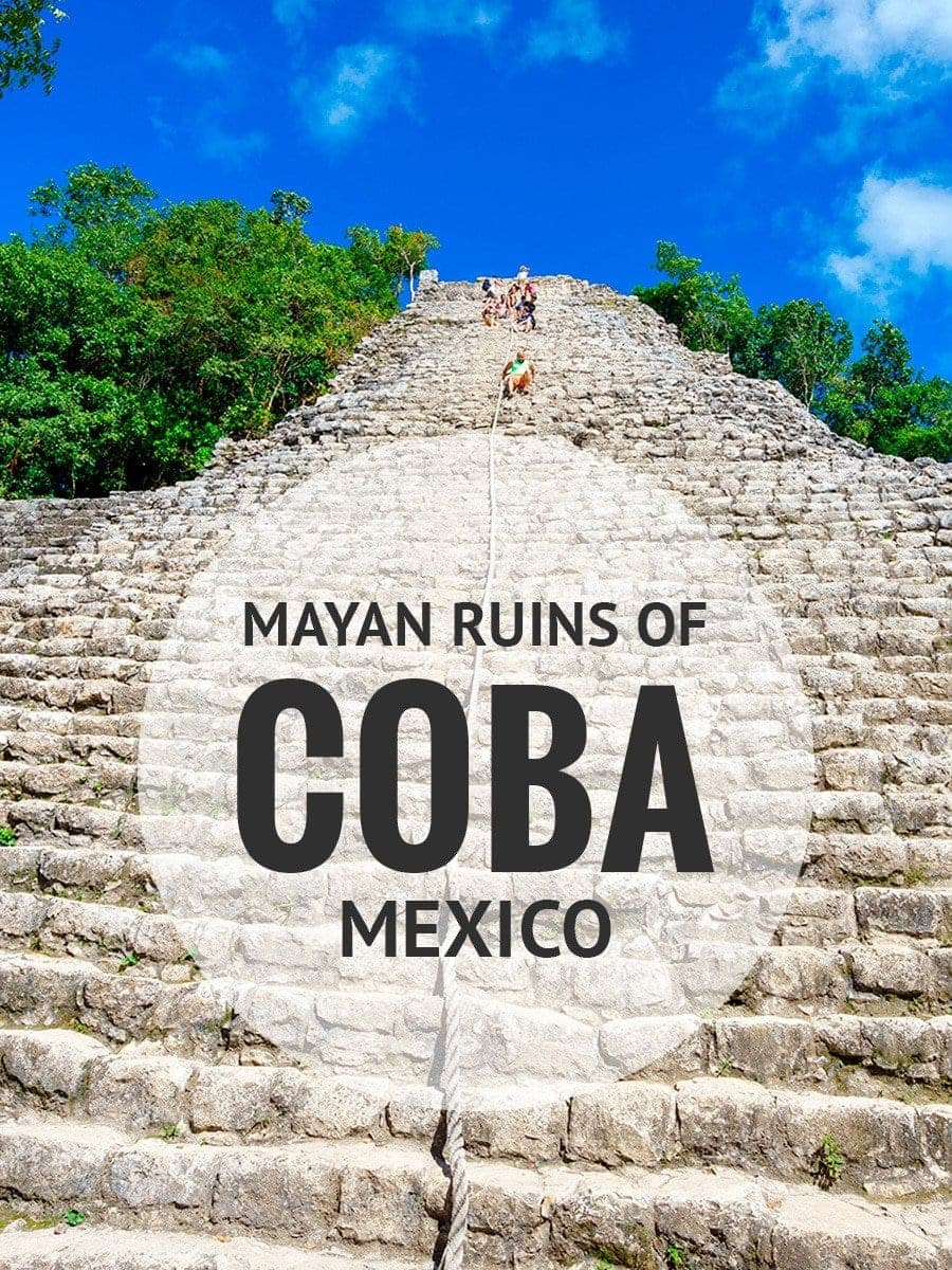 Climbing The Ancient Mayan Ruins Of Coba