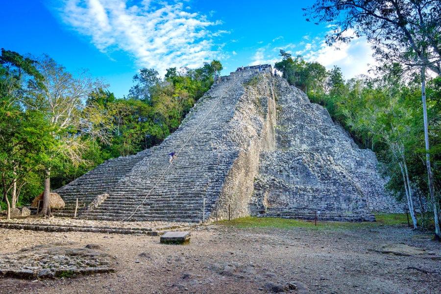 Coba Ruins Pyramid