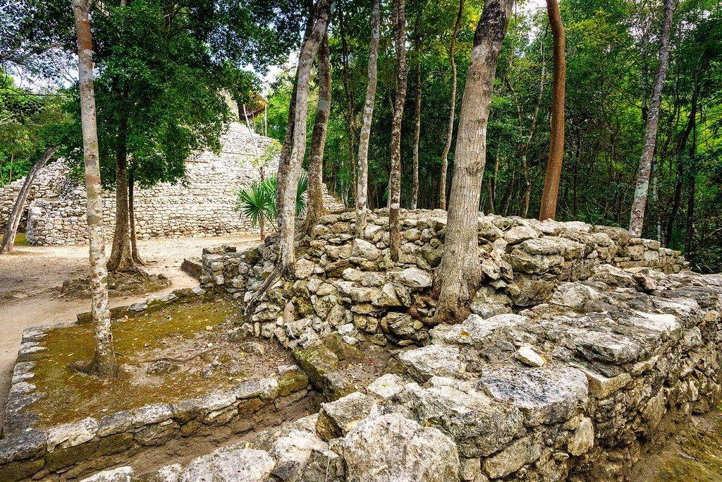 Coba Trails and Paths