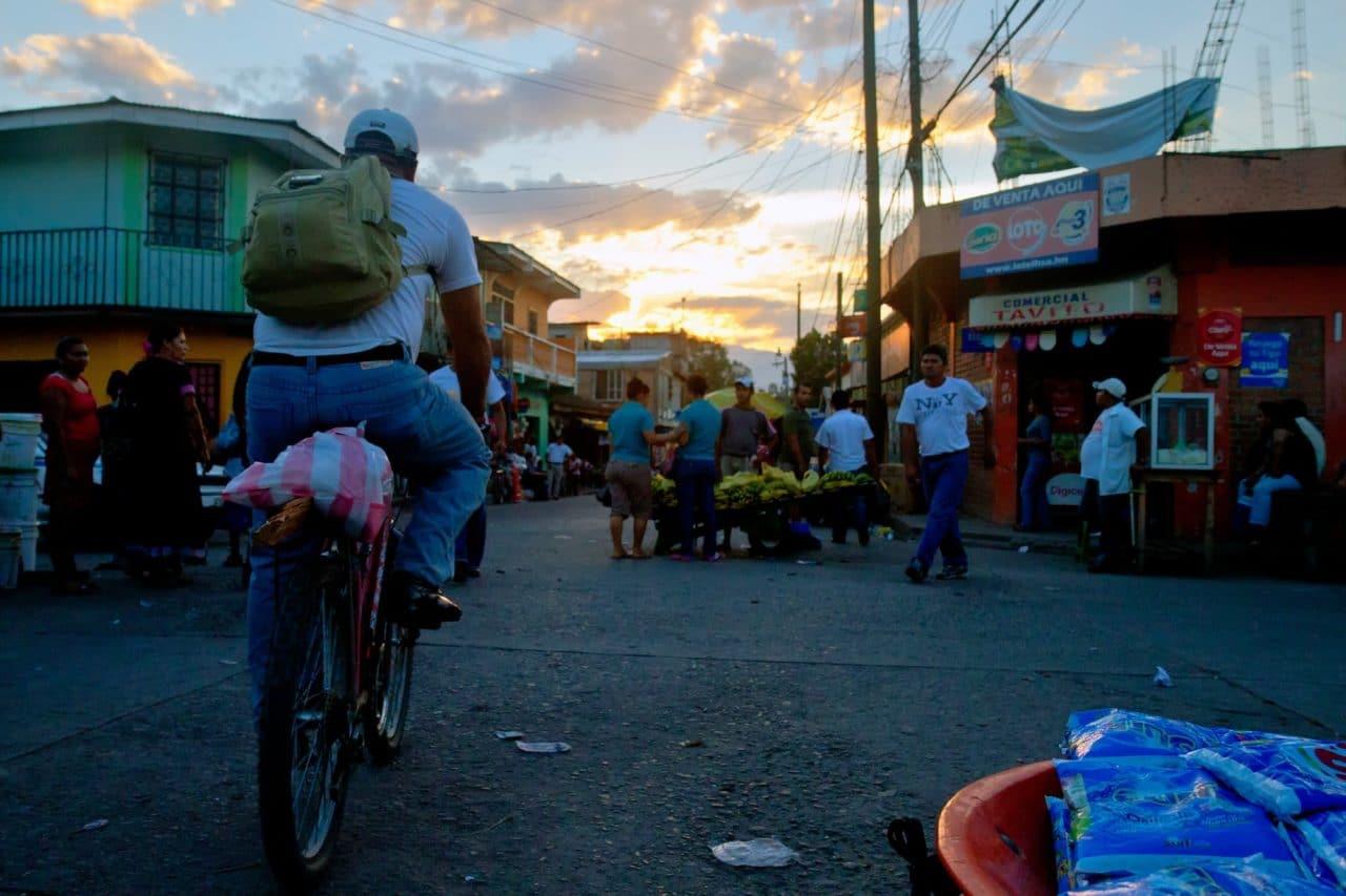 Comayagua Honduras Market Sunset