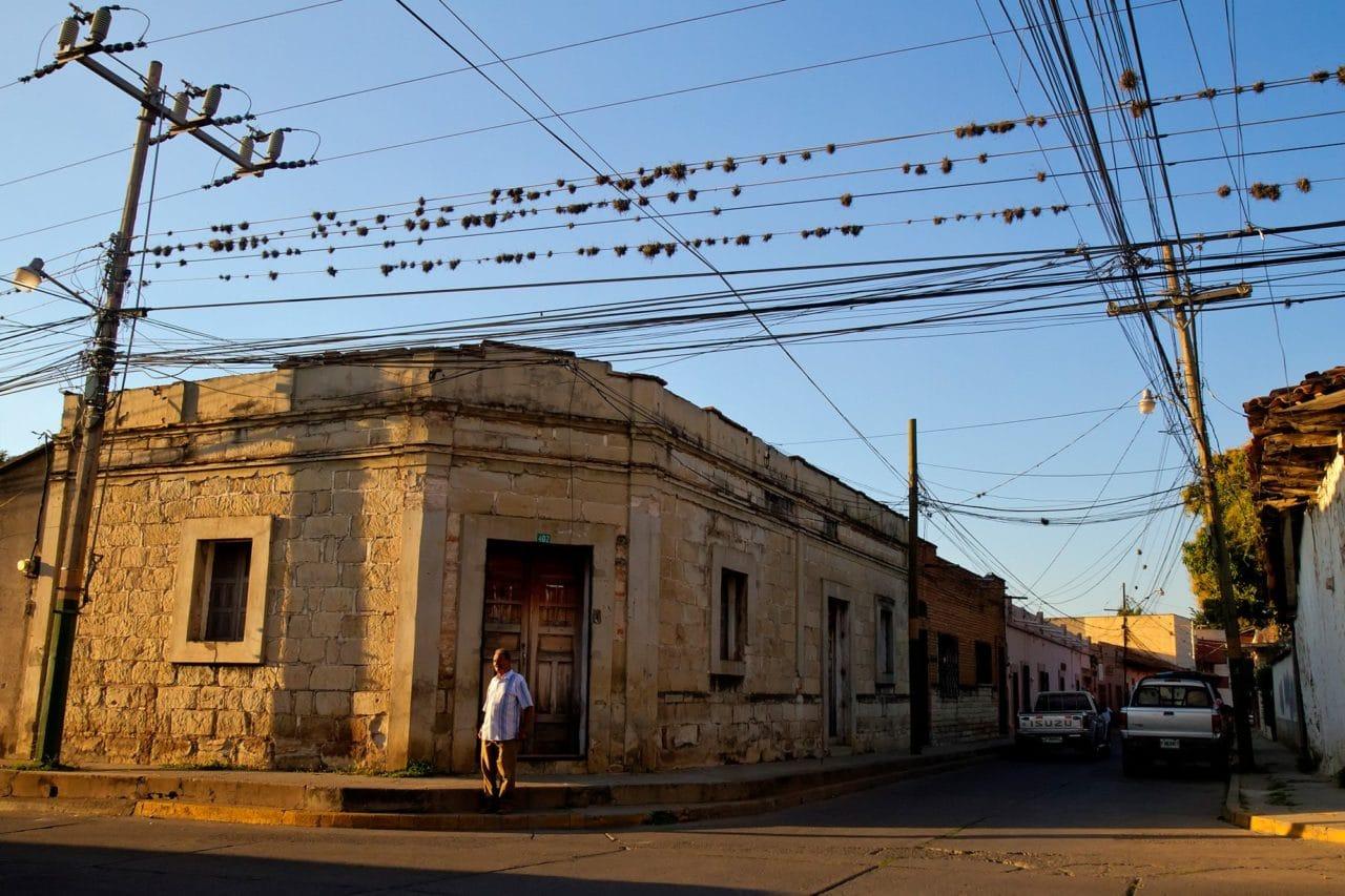 Comayagua Honduras Empty Streets