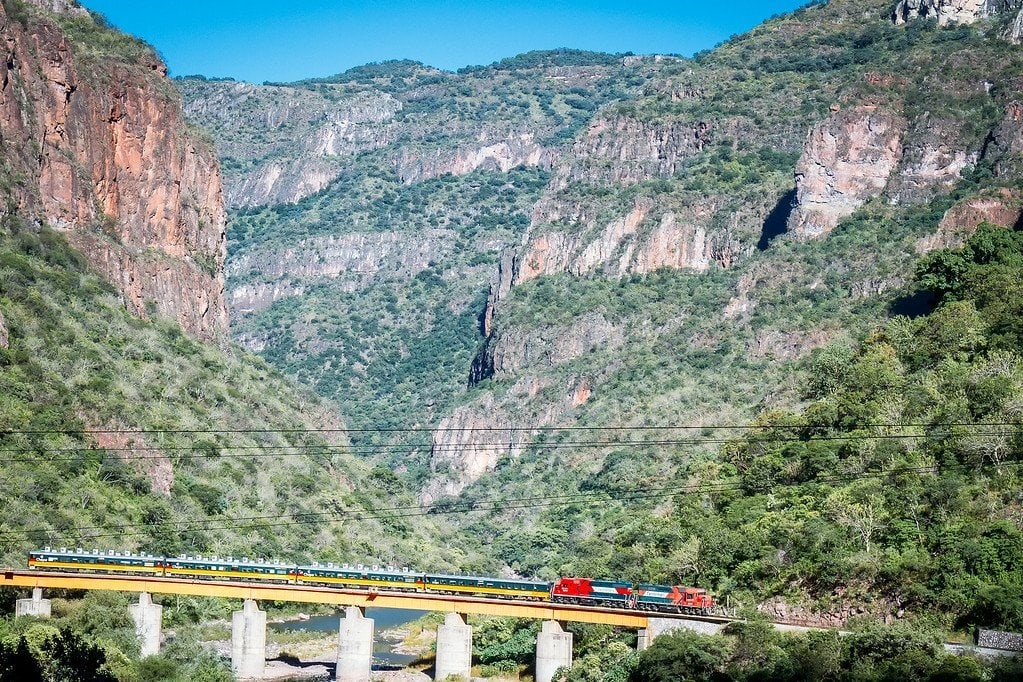 Chepe Train Copper Canyon Mexico