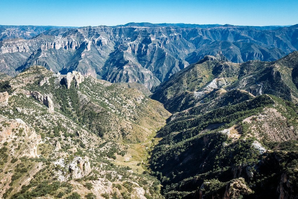 Chepe Train Copper Canyon Mexico