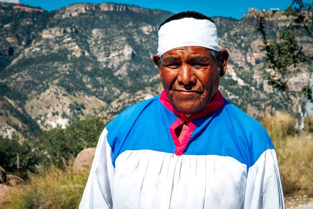 Local Man in Copper Canyon