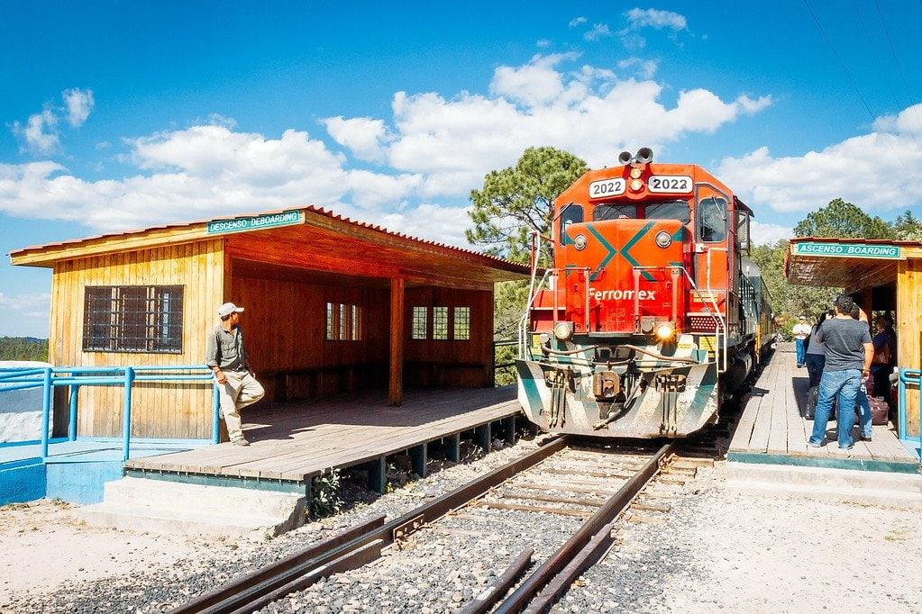 Copper Canyon Train Chihuahua Mexico