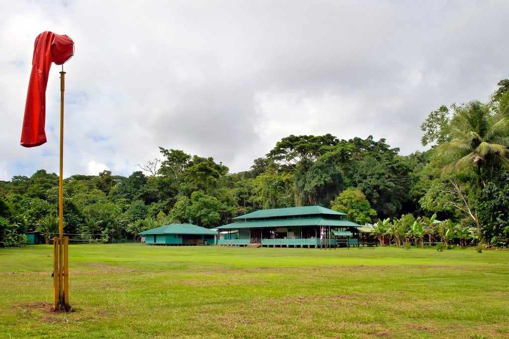 Ranger Station in Corcovado Costa Rica