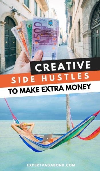 Make Extra Money: 38 Creative Side Hustles #sidehussle #money