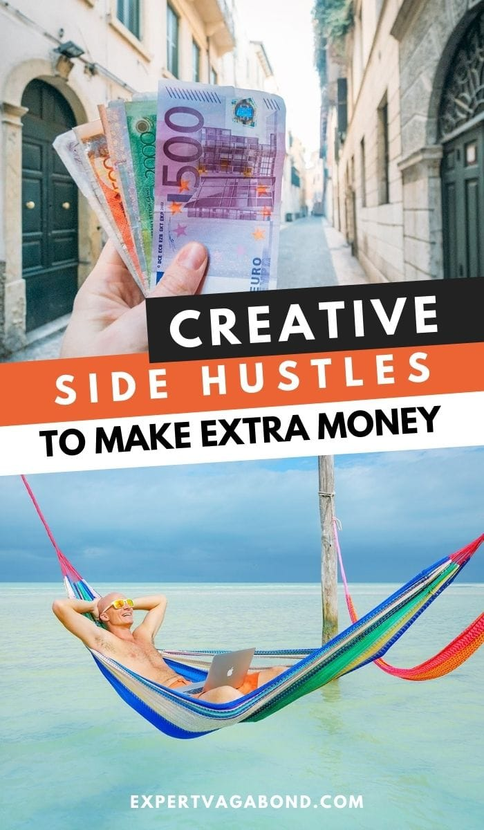 Creative Side Hustles To Make Extra Money This Year! More at ExpertVagabond.com