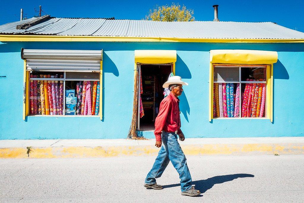 Cowboy in Creel Mexico