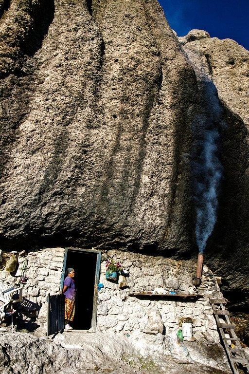 Tarahumara Cave Mexico