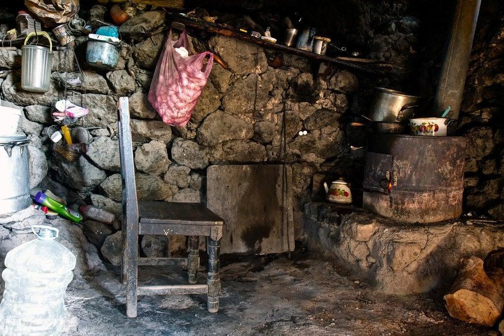 Tarahumara Cave Kitchen Creel Mexico
